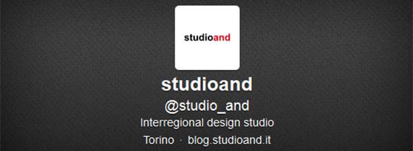 studioand is on twitter