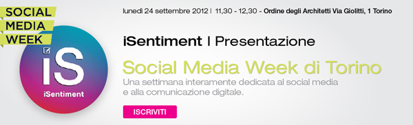 iSentiment al Social Media Week